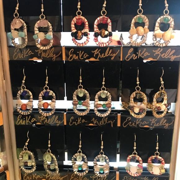 Erika Kelly Jewelry - I make Recycled Earrings!